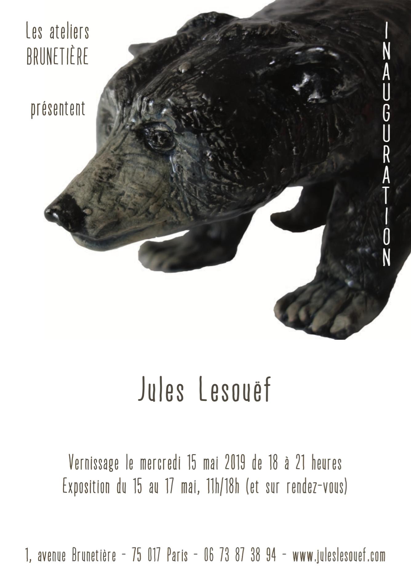 Vernissage Brunetière Jules Lesouef